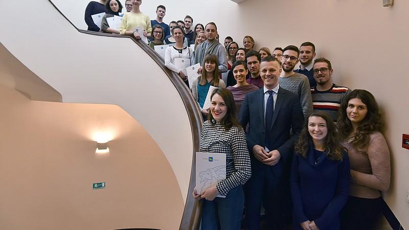 Dodijeljene stipendije Istarske županije za akademsku godinu 2017./2018.