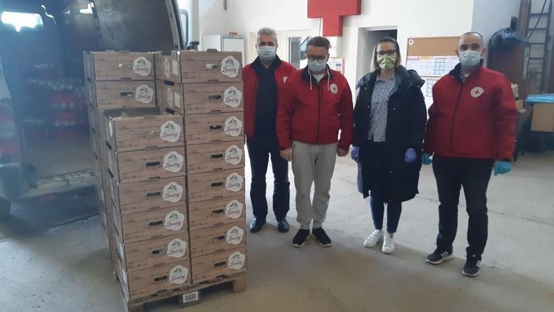 Vukovarsko-srijemska županija pomaže kupnjom domaćih proizvoda OPG-ova za najpotrebitije