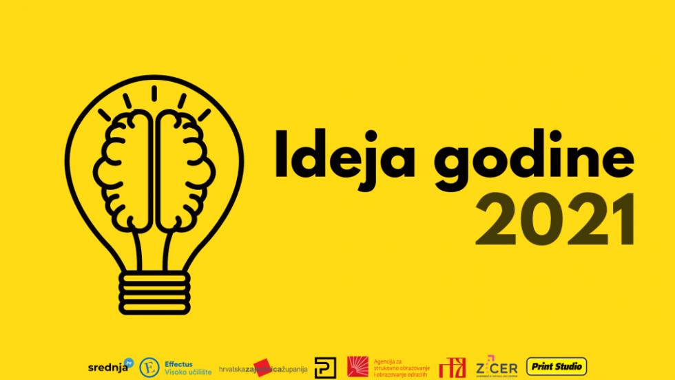 Ideja godine 2021: Otvorene prijave, najbolja srednjoškolska ideja osvaja 10.000,00 kn