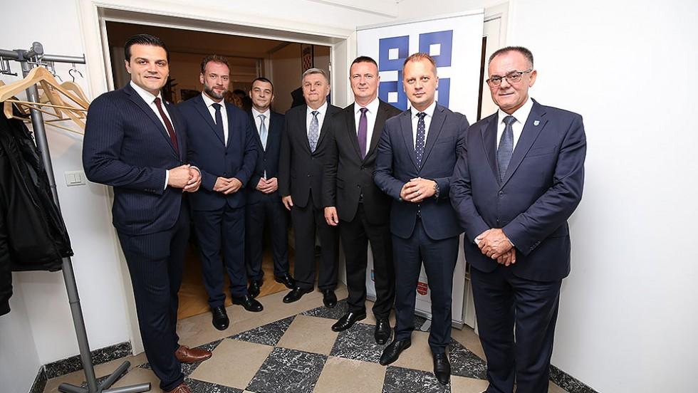 Bruxelles: Otvoren zajednički ured pet slavonskih županija