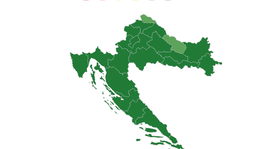 Proračunska transparentnost županija, gradova i općina: županije ponovno najtransparentnije