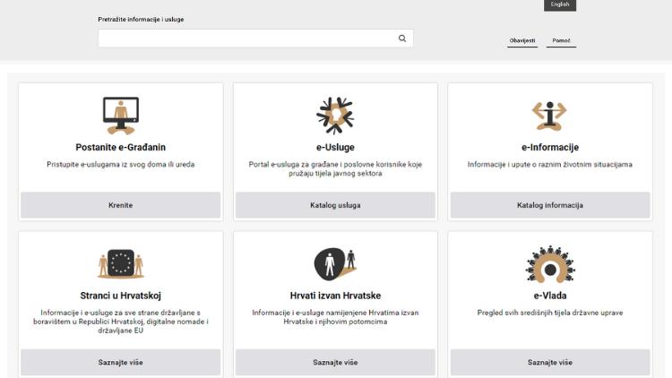 Sve što vam treba, na jednom je mjestu. Dobrodošli na novi portal e-Građani!