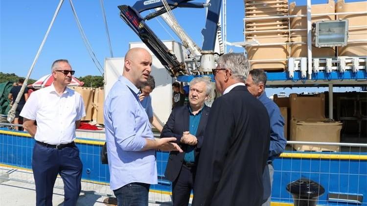 Ministar Tolušić obišao istarske ribarske luke u izgradnji