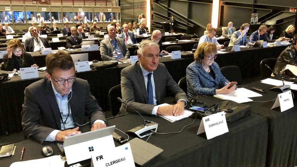 Nikola Dobroslavić prisustvuje sastanku Predsjedništva Europskog odbora regija u Finskoj