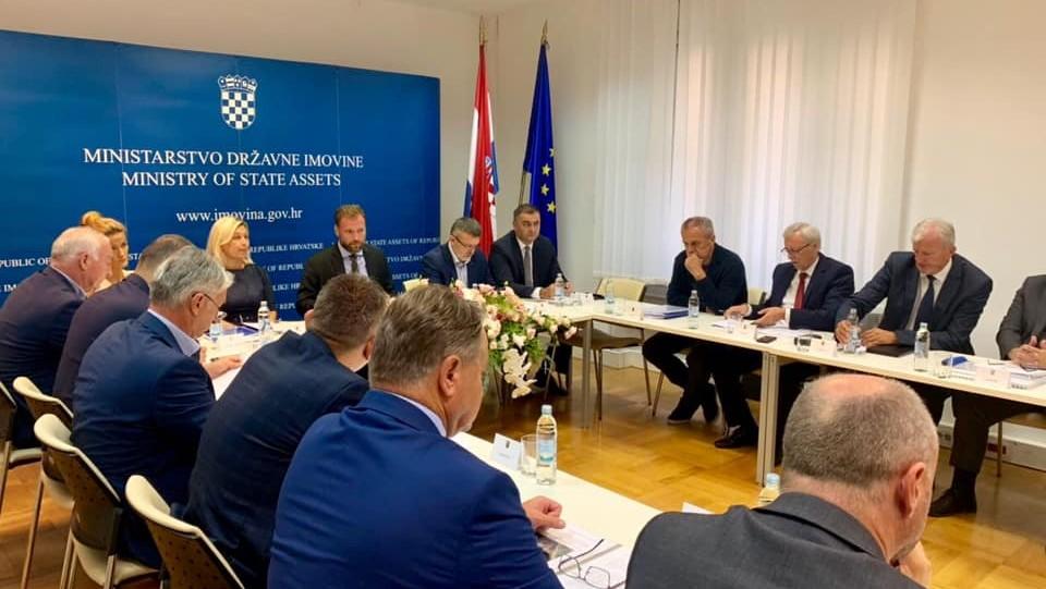 Sastanak u Ministarstvu državne imovine potaknuo dinamičniju suradnju