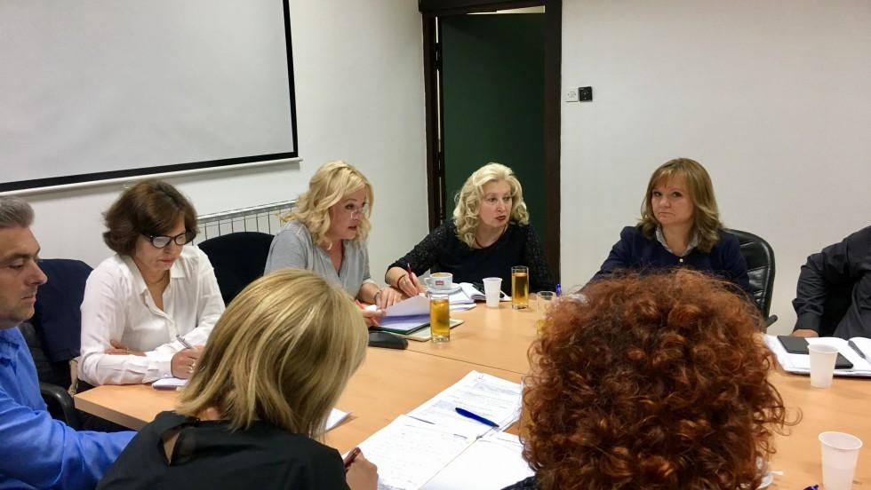 Ministar zdravstva Milan Kujundžić na sastanku s Radnom skupinom za zdravstvo i socijalnu skrb