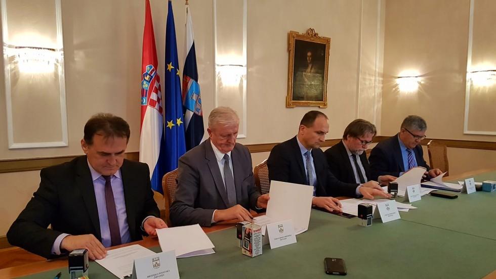 Potpisan Sporazum o suradnji pet slavonskih županija