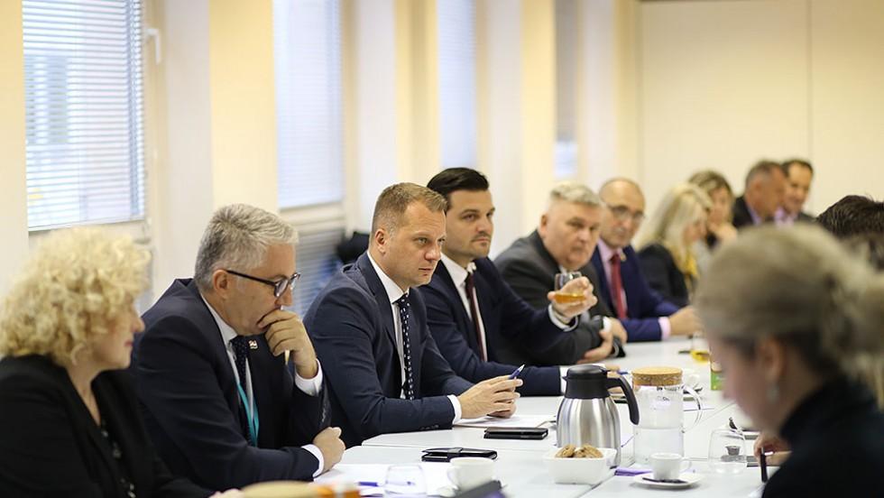 Izaslanstvo slavonskih županija, u Bruxellesu je posjetilo Stalno predstavništvo Republike Hrvatske pri Europskoj uniji