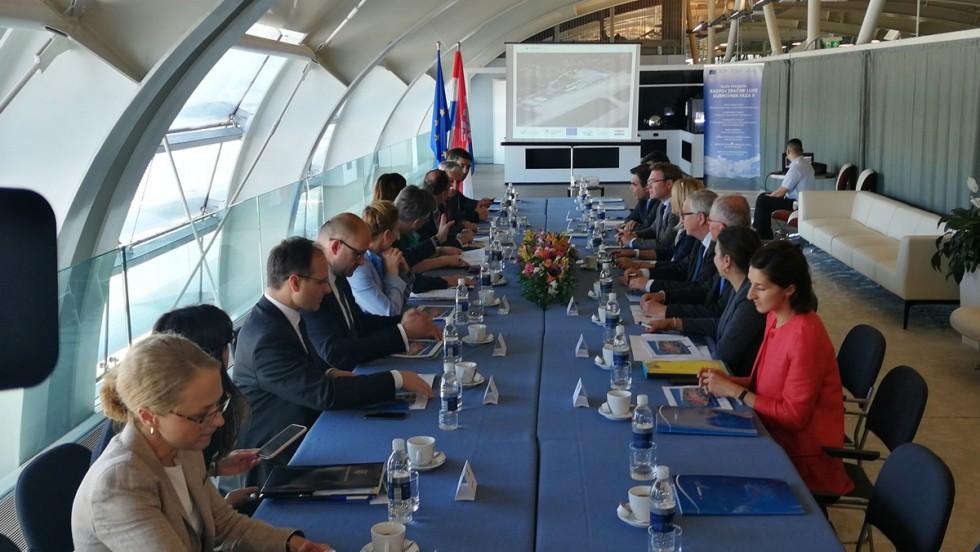 Predsjednik Vlade Plenković i predsjednik Europske komisije Juncker u posjetu Dubrovniku